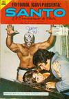 Cover for Santo El Enmascarado de Plata (Editorial Icavi, Ltda., 1976 series) #25
