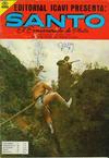 Cover for Santo El Enmascarado de Plata (Editorial Icavi, Ltda., 1976 series) #30