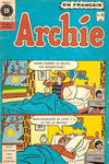Cover for Archie (Editions Héritage, 1971 series) #78