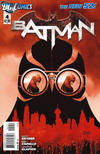 Cover for Batman (DC, 2011 series) #4 [Second Printing]