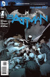 Cover for Batman (DC, 2011 series) #1 [Fourth Printing]