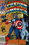 Cover for Captain America (Marvel, 1968 series) #397 [Newsstand]