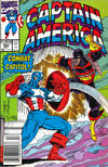 Cover Thumbnail for Captain America (1968 series) #393 [Newsstand Edition]