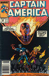 Cover for Captain America (Marvel, 1968 series) #356 [Newsstand Edition]