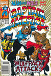Cover Thumbnail for Captain America (1968 series) #406 [Newsstand Edition]
