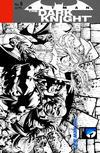 Cover for Batman: The Dark Knight (DC, 2011 series) #8 [David Finch / Richard Friend Black & White Wraparound Cover]