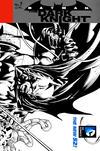 Cover for Batman: The Dark Knight (DC, 2011 series) #7 [David Finch / Richard Friend Black & White Wraparound Cover]