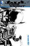 Cover for Batman: The Dark Knight (DC, 2011 series) #9 [David Finch / Richard Friend Black & White Wraparound Cover]