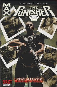 Cover Thumbnail for Punisher MAX (Marvel, 2004 series) #8 - Widowmaker