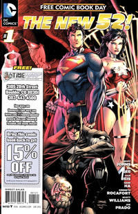 Cover Thumbnail for DC Comics - The New 52 FCBD Special Edition (DC, 2012 series) #1 [Time Warp]