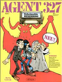 Cover Thumbnail for Agent 327 (Egmont Ehapa, 1983 series) #1 - Geheimakte Hexenring
