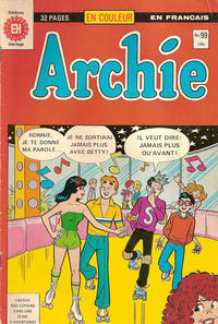 Cover Thumbnail for Archie (Editions Héritage, 1971 series) #99