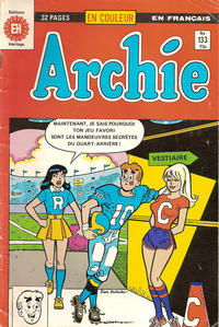 Cover Thumbnail for Archie (Editions Héritage, 1971 series) #133