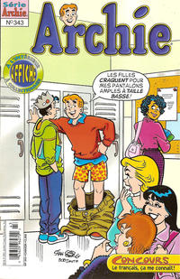 Cover Thumbnail for Archie (Editions Héritage, 1971 series) #343