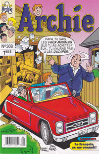 Cover Thumbnail for Archie (Editions Héritage, 1971 series) #308