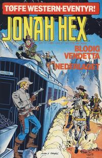 Cover Thumbnail for Jonah Hex (Semic, 1985 series) #12/1985