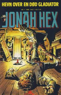 Cover Thumbnail for Jonah Hex (Semic, 1985 series) #1/1986
