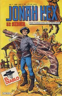 Cover Thumbnail for Jonah Hex (Semic, 1985 series) #1/1985