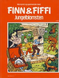 Cover Thumbnail for Finn & Fiffi (Skandinavisk Presse, 1983 series) #4/1983 - Jungelblomsten