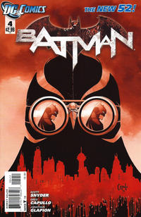 Cover Thumbnail for Batman (DC, 2011 series) #4 [Second Printing]