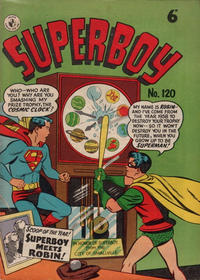 Cover Thumbnail for Superboy (K. G. Murray, 1949 series) #120