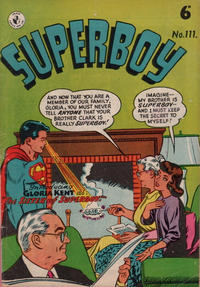 Cover Thumbnail for Superboy (K. G. Murray, 1949 series) #111