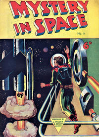 Cover Thumbnail for Mystery in Space (L. Miller & Son, 1955 ? series) #9