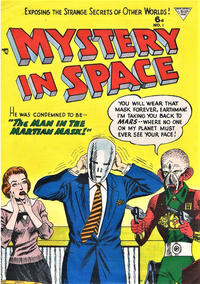 Cover Thumbnail for Mystery in Space (L. Miller & Son, 1955 ? series) #1