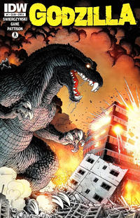 Cover Thumbnail for Godzilla (IDW, 2012 series) #1