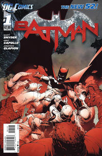 Cover Thumbnail for Batman (DC, 2011 series) #1 [Third Printing]