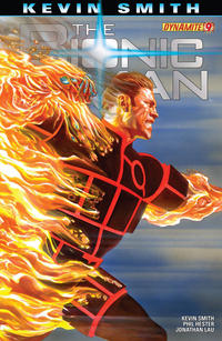 Cover Thumbnail for Bionic Man (Dynamite Entertainment, 2011 series) #9 [Cover A (Main) Alex Ross]