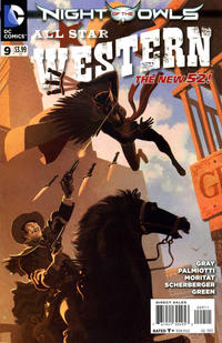 Cover Thumbnail for All Star Western (DC, 2011 series) #9