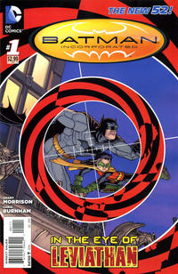 Cover Thumbnail for Batman Incorporated (DC, 2012 series) #1 [Chris Burnham Cover]