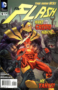 Cover Thumbnail for The Flash (DC, 2011 series) #9
