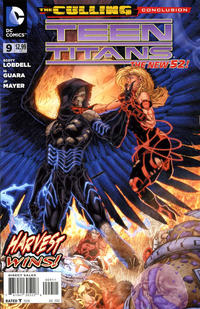 Cover Thumbnail for Teen Titans (DC, 2011 series) #9