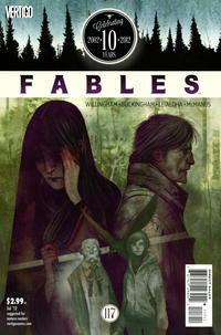Cover for Fables (DC, 2002 series) #117