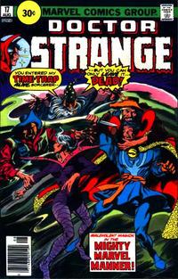 Cover Thumbnail for Doctor Strange (Marvel, 1974 series) #17 [30¢ Price Variant]