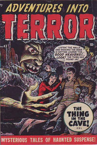 Cover Thumbnail for Adventures Into Terror (Superior Publishers Limited, 1950 series) #43 [1]