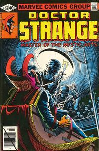 Cover Thumbnail for Doctor Strange (Marvel, 1974 series) #39 [Newsstand Edition]