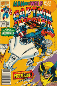 Cover Thumbnail for Captain America (Marvel, 1968 series) #403 [Newsstand Edition]