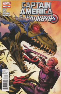 Cover Thumbnail for Captain America and Hawkeye (Marvel, 2012 series) #631