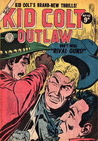 Cover Thumbnail for Kid Colt Outlaw (Horwitz, 1952 ? series) #42