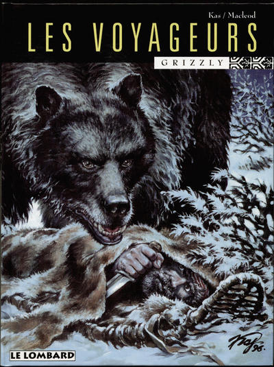 Cover for Les Voyageurs (Le Lombard, 1995 series) #2 - Grizzly