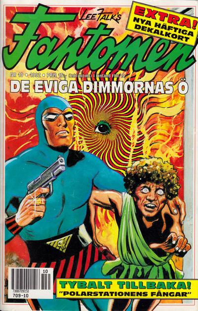 Cover for Fantomen (Semic, 1963 series) #10/1992