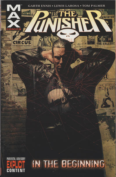 Cover for Punisher MAX (Marvel, 2004 series) #1 - In the Beginning [Second Printing]