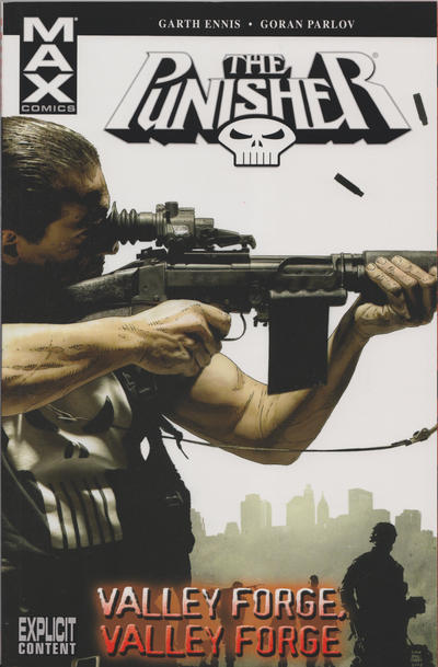 Cover for Punisher MAX (Marvel, 2004 series) #10 - Valley Forge, Valley Forge