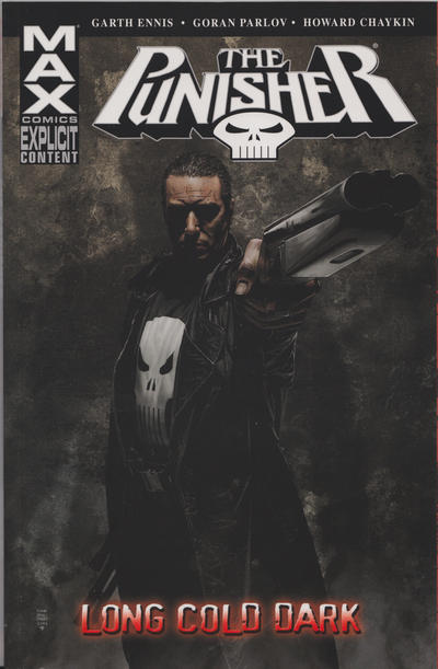 Cover for Punisher MAX (Marvel, 2004 series) #9 - Long Cold Dark