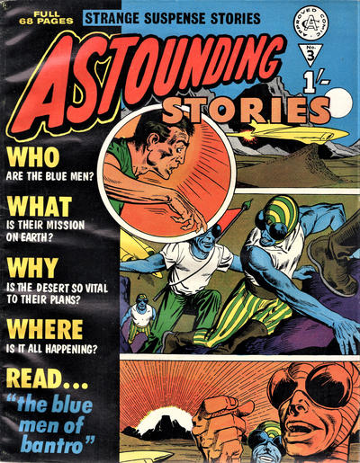 Cover for Astounding Stories (Alan Class, 1966 series) #3