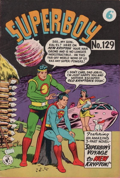 Cover for Superboy (K. G. Murray, 1949 series) #129
