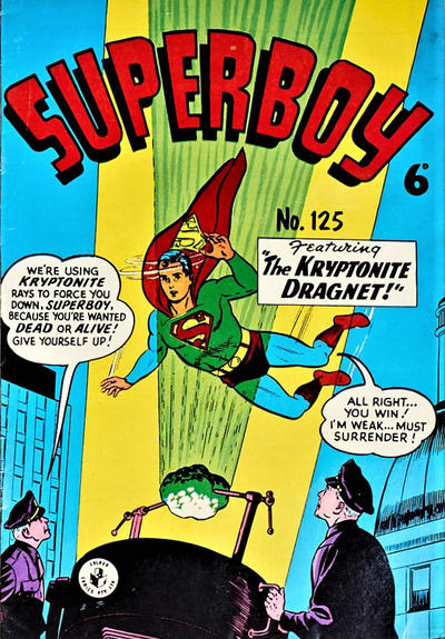 Cover for Superboy (K. G. Murray, 1949 series) #125